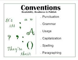 grammar and conventions