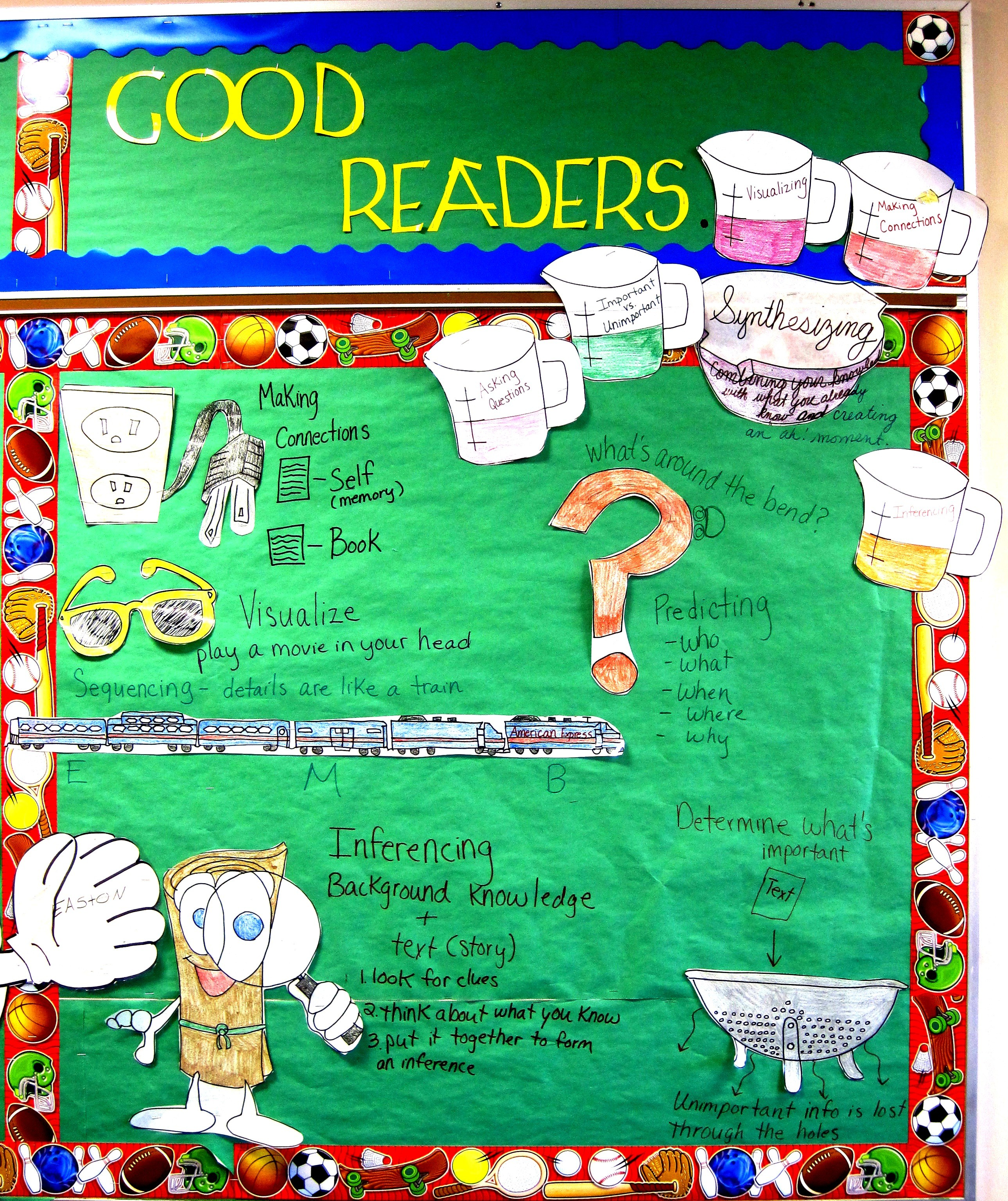 Bulletin Board Ideas For Questions: HIGHLAND LITERACY