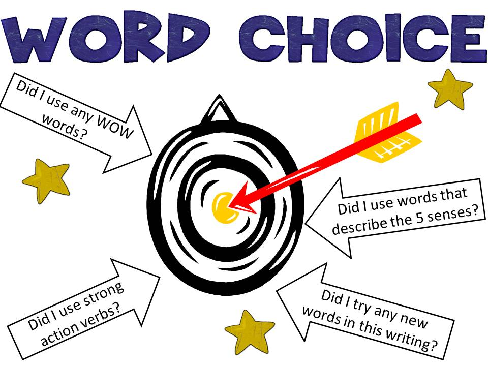 Good word choices for essays 6th grade