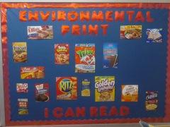 Environmental Print Board