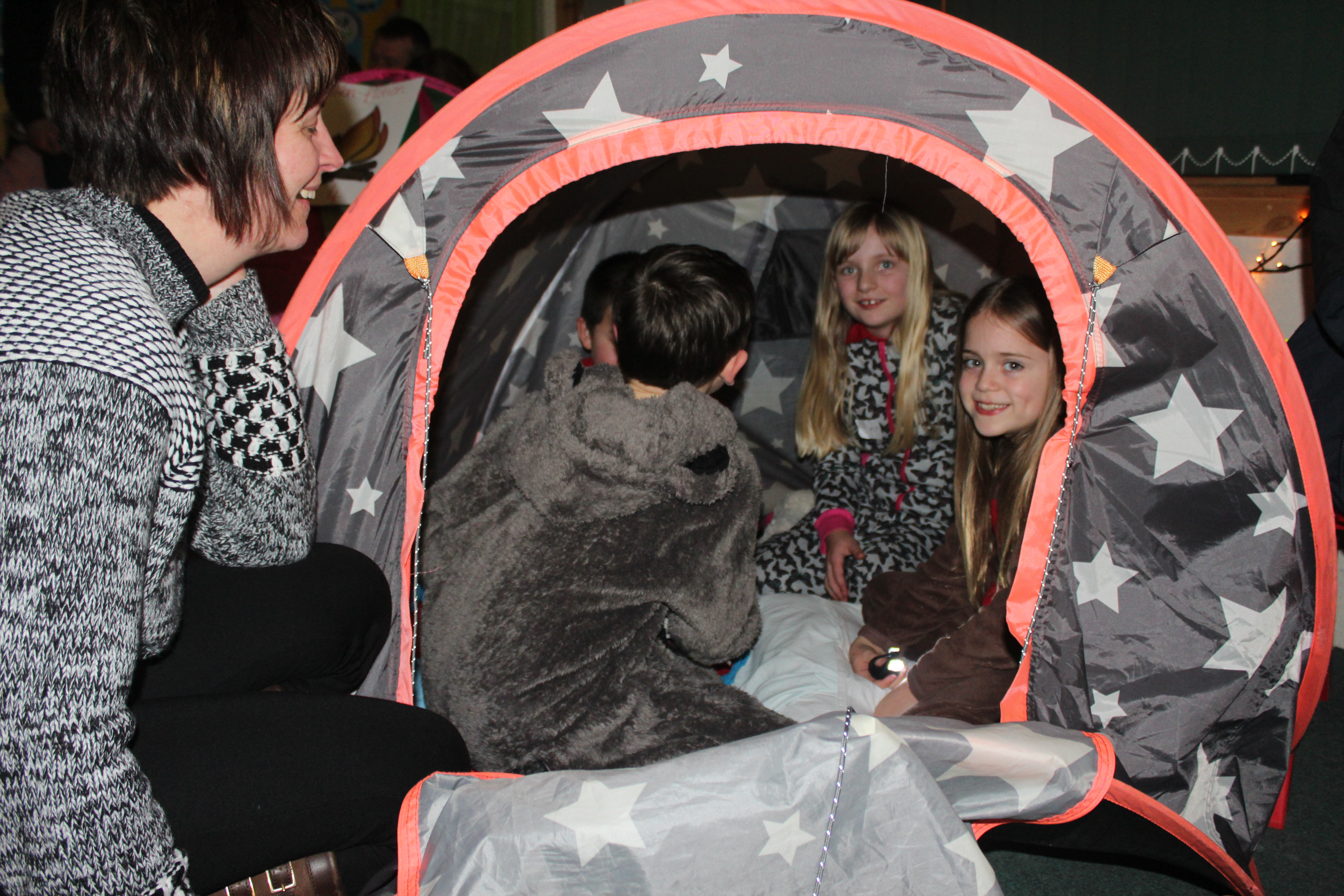'Reading by the Campfire' | HIGHLAND LITERACY